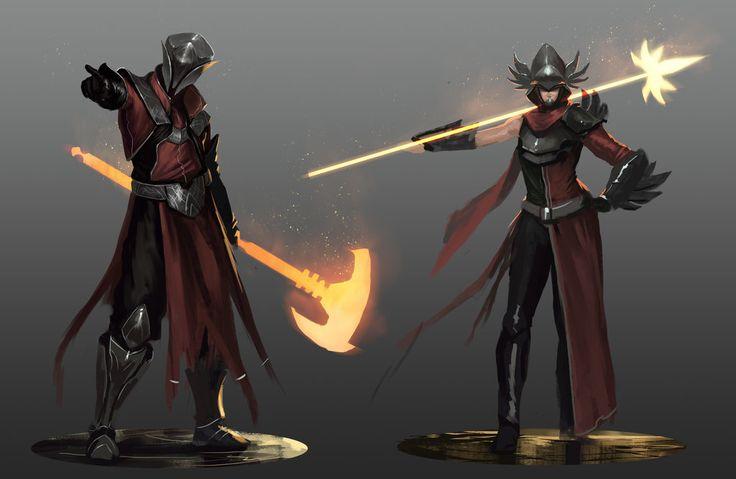 Beacon - Red Knight Sketches by JoshCorpuz85 on DeviantArt ...