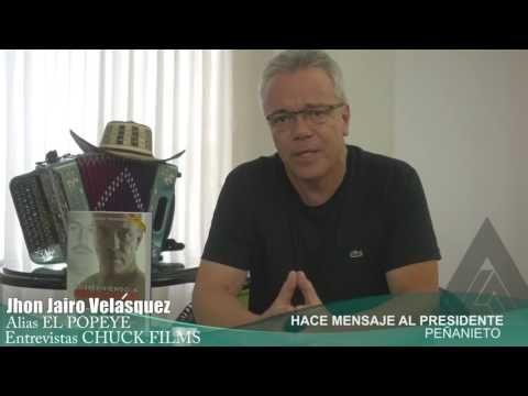 """Ex-Sicario """"Popeye"""" amenaza a Peña Nieto y le deja escalofriante mensaje (2016) - YouTube"""