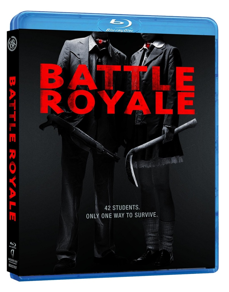 love this movie: Movie Posters, Japan Movie, The Hunger Games, Favourit Movie, Royals Blu Ray, Royals Bluray, Asian Film, Horror Movie, Battle Royals