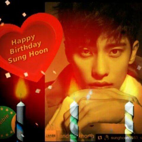 43 個讚,6 則留言 - Instagram 上的 Debbie Moh(@debbie_moh):「 #debbie_moh My post made for #SungHoon Birthday on 14/2 💞😍😃💟🙌 #birthday #valentinesday… 」