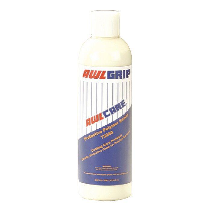 Защитная полимерная полироль AWLCARE Protective Polymer Sealer, 0,5 л  AWLCARE- это ручной, синтетический полимер, разработанный для защиты финишных покрытий AWLGRIP, AWLCRAFT2000. Awlcare не содержит абразивов и не желтеет, защитного покрытия хватает на несколько моек. Удаляет пятна, такие как пятна от воды и дизельной сажи и увеличивает стойкость к воздействию кислотных дождей и других загрязнений окружающей среды.                 Свойства                     КодТовара…