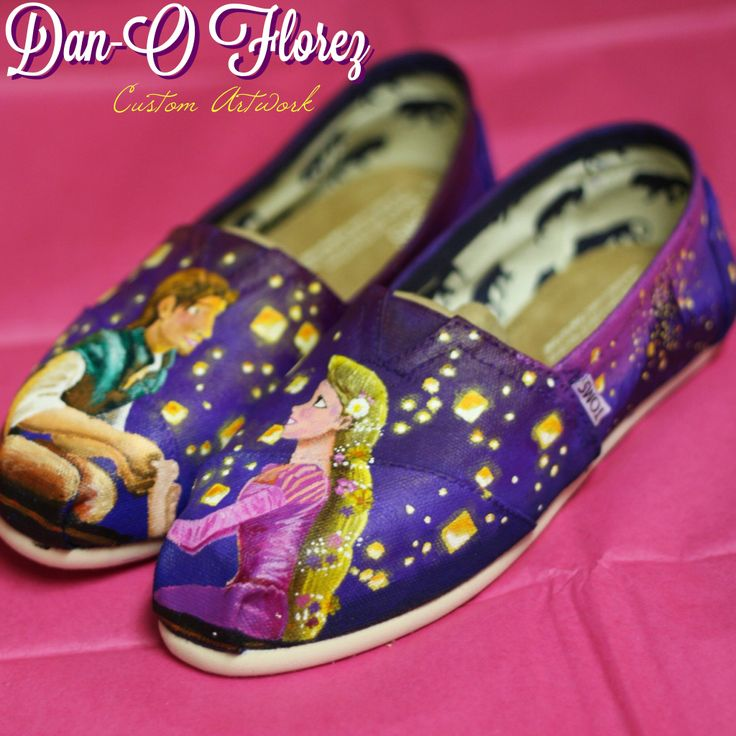 Order your customized shoes at www.DanOFlorez.com and read about how I create these at www.Dan-O.net