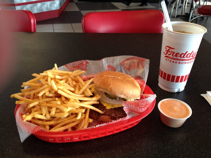 Freddy's Frozen Custard & Steakburgers.  This is how it's done.