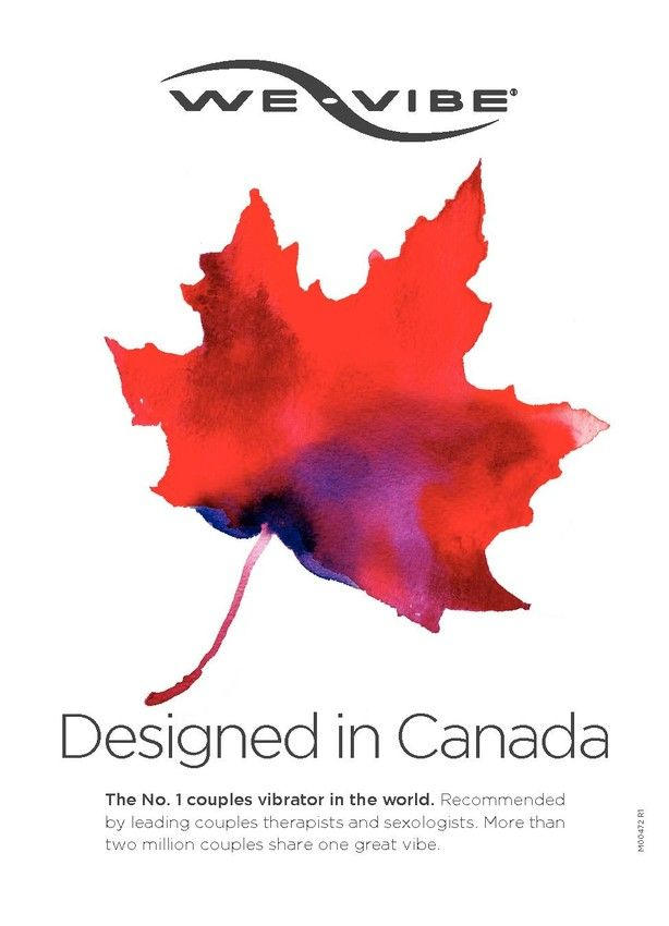 We-Vibe products are proudly designed in Canada!