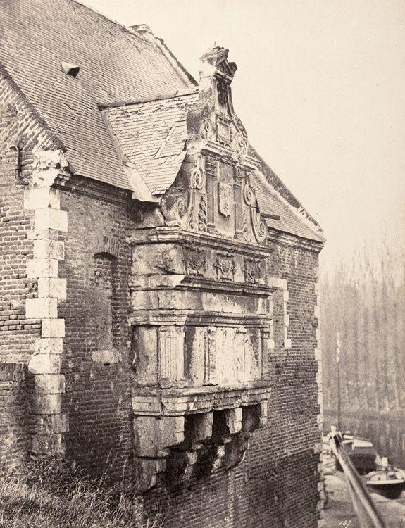 Eugène Cuvelier (French, 1837 - 1900) - Porte d'Eau, Arras, c.1860-1865