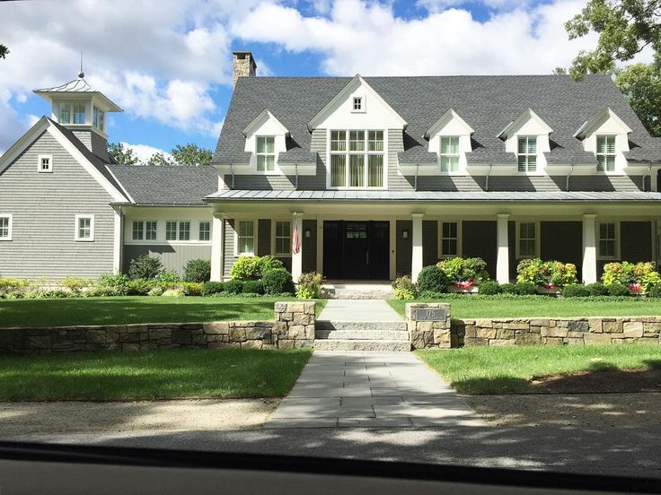 """422 Likes, 6 Comments - Linda Smith Davis -New England (@newenglandfineliving) on Instagram: """"During a summer drive through Concord, MA I came across this home offering many wonderful details…"""""""