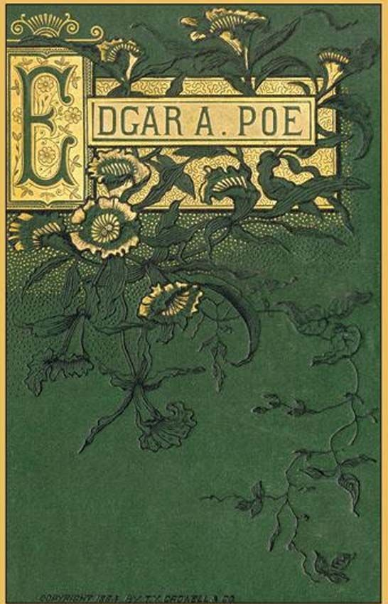 Beautiful Poetry Book Covers : Edgar allan poe by t y crowell co book jacket
