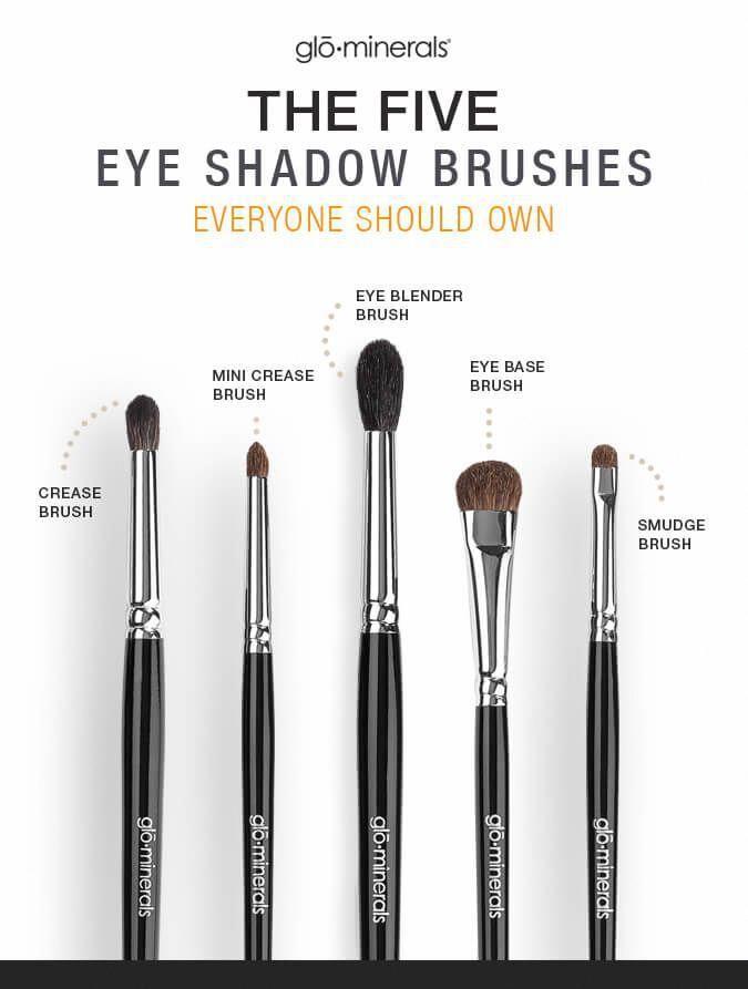 New Eye Makeup Eyemakeup Essential Makeup Brushes Makeup