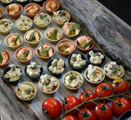 50 best canap s and party food images on pinterest for Canape buffet menus
