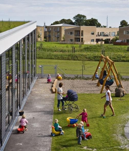 Elverhoj day care located in Holbæk, Denmark