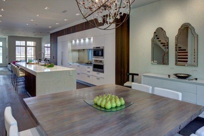 Client: Modiani Kitchens and Interiors - Country: USA - City: Weehawken, New Jersey - Model: Yara teak - Architect/Design studio: Mark Virgona - Photographer – Memories TTL #CesarKitchen #design #interiors #kitchen
