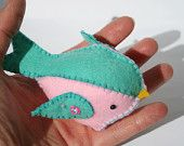 Felt Birdie - Can personalise with name etc