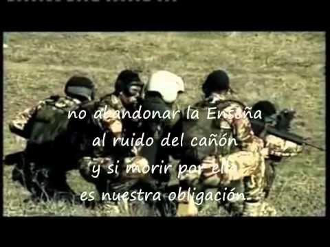 Himno Infanteria de Marina Española con letra - YouTube