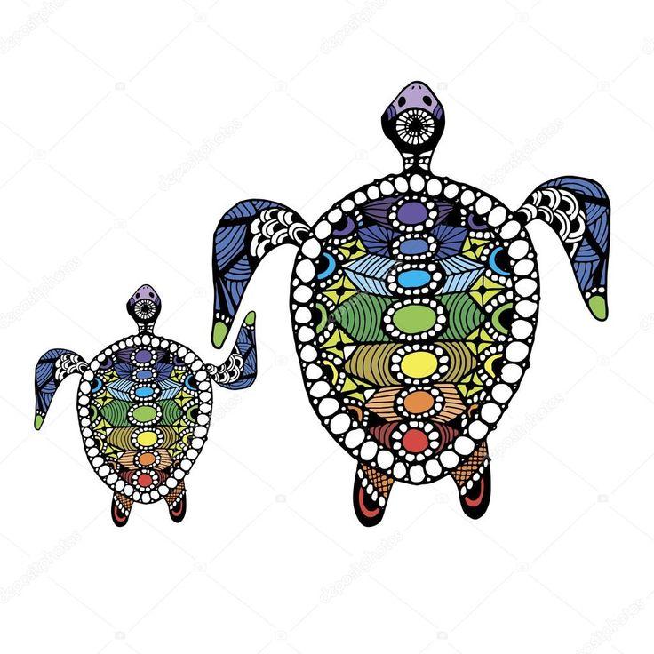 Resultado de imagen de ilustraciones de tortugas
