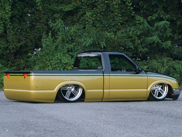 37 best mini truckin images on pinterest chevy s10 mini trucks ryan arsenaults custom chevrolet mini truck is bodyddropped on and sports a sick air ride rear suspension setup and suicide doors sciox Choice Image