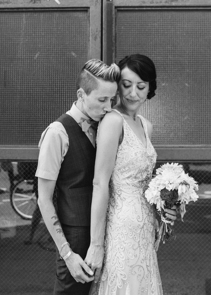 Brooklyn DIY Lesbian Wedding at MyMoon | Equally Wed - LGBTQ Weddings