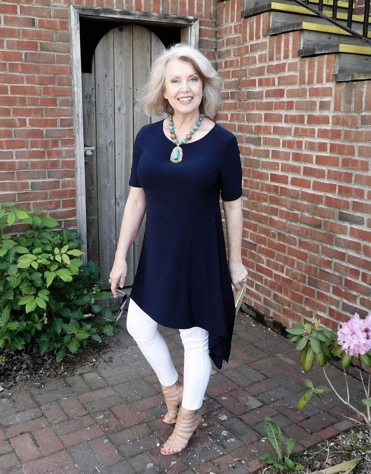 Mature fashionable women's clothing