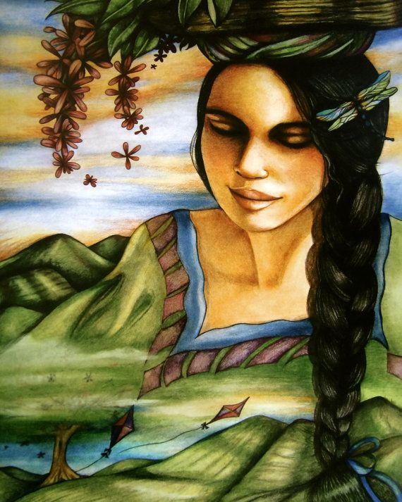 The Latin Flower Seller by Claudia Tremblay