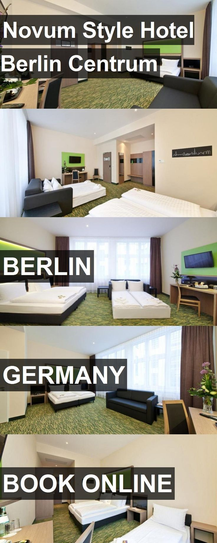 Novum Style Hotel Berlin Centrum in Berlin, Germany. For more information, photos, reviews and best prices please follow the link. #Germany #Berlin #travel #vacation #hotel