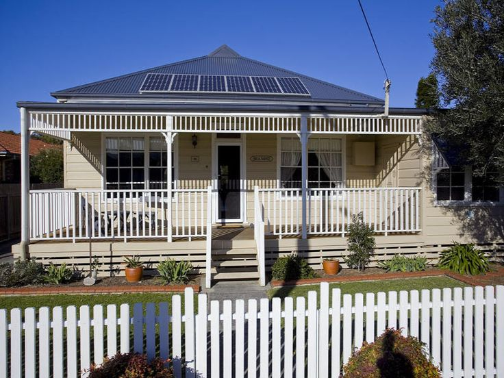 Edwardian Weatherboard Facade Veranda Railing Note The