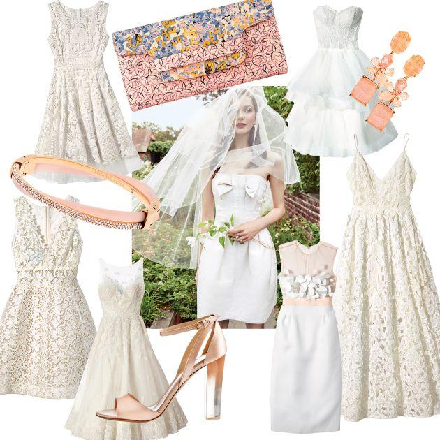 79 Best Images About Short Wedding Dresses On Pinterest