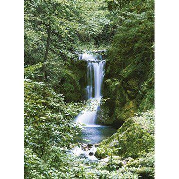 Poster XXL de mur Waterfall l.183 x H.254 cm
