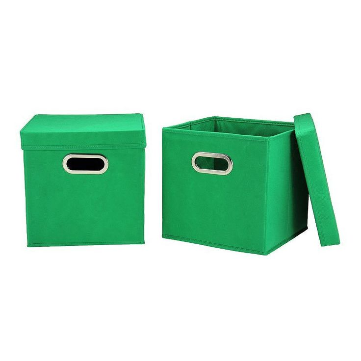 Household Essentials 2-pk. Collapsible Storage Bins,