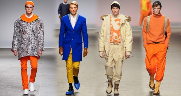 Men's Neon Trend For Fall 2013