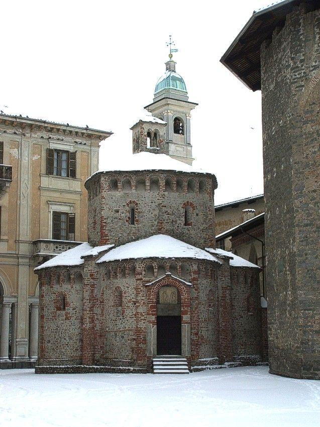 Baptistry at Biella, Italy Piemonte