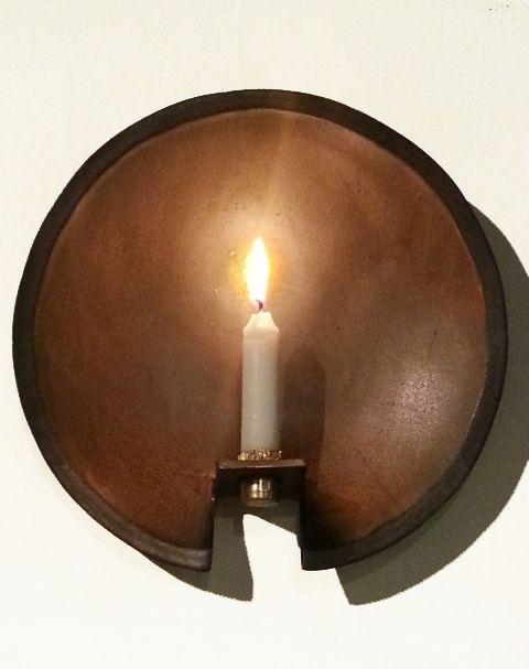Wall candleholder, Pirjo Pesonen