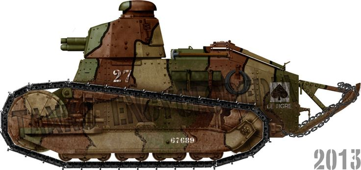 Renault FT 17 male