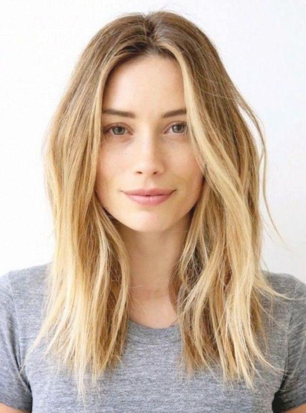 Frisuren Mittellang Ideen Haarschnitte Fur Schulterlange Haare 2019 Warme Blonde Haare Medium Haare Haarfarben Tone