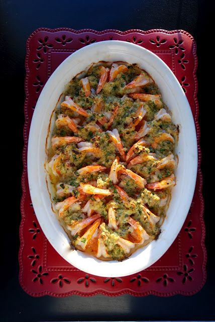 Baked Shrimp Scampi - OUTSTANDING!