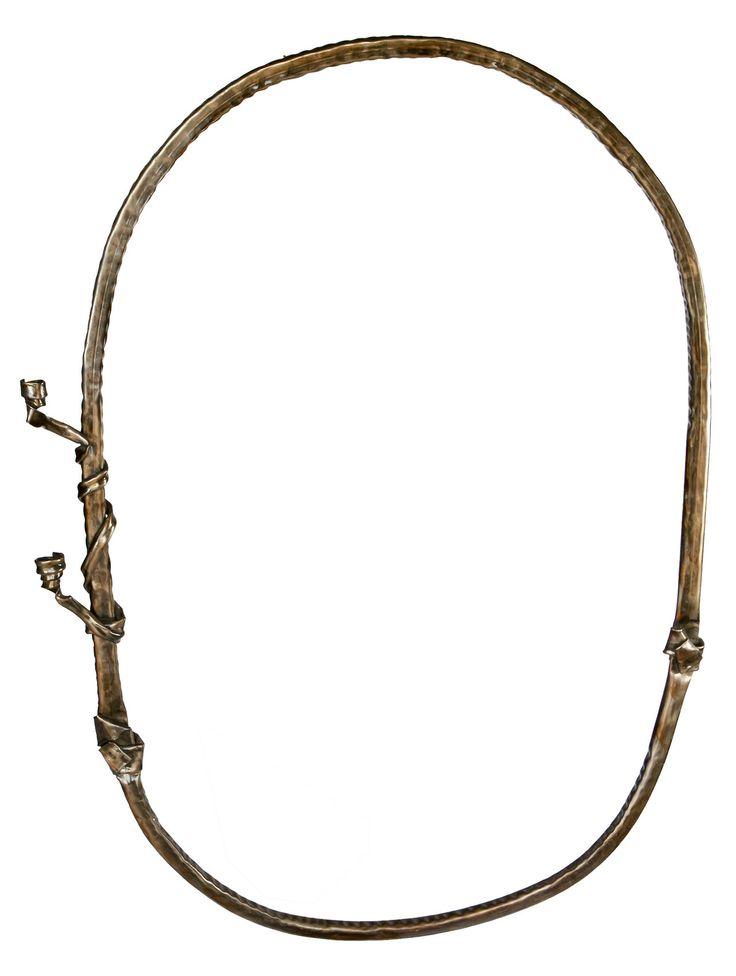Anadora Lupo metal sculpture - frame