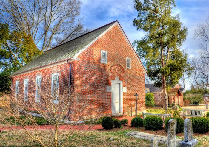 Oldest building in NC - is in Bath, NC