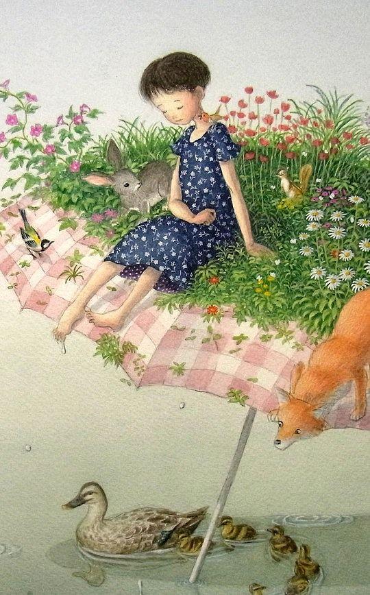 De:Shinya Okayama  Nos muestra como una fantasiosa ficción puede ser una bella realidad ante los ojos de un niño