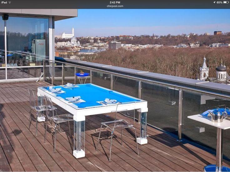 Ocean Modern Pool Table By Chicpool.com