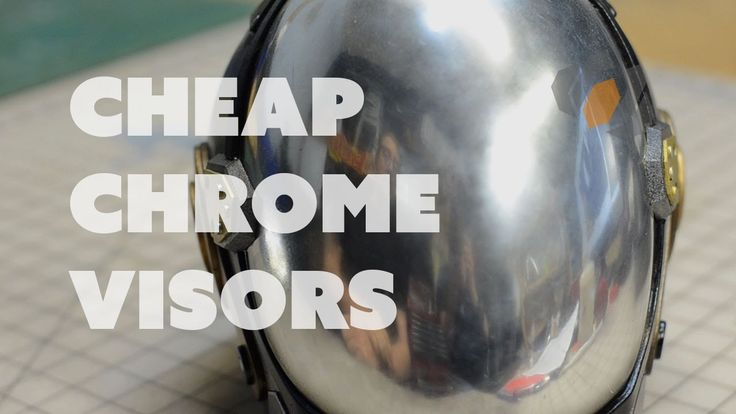 Prop: Shop - Chrome Helmet Visors and Patterns with Evil Ted