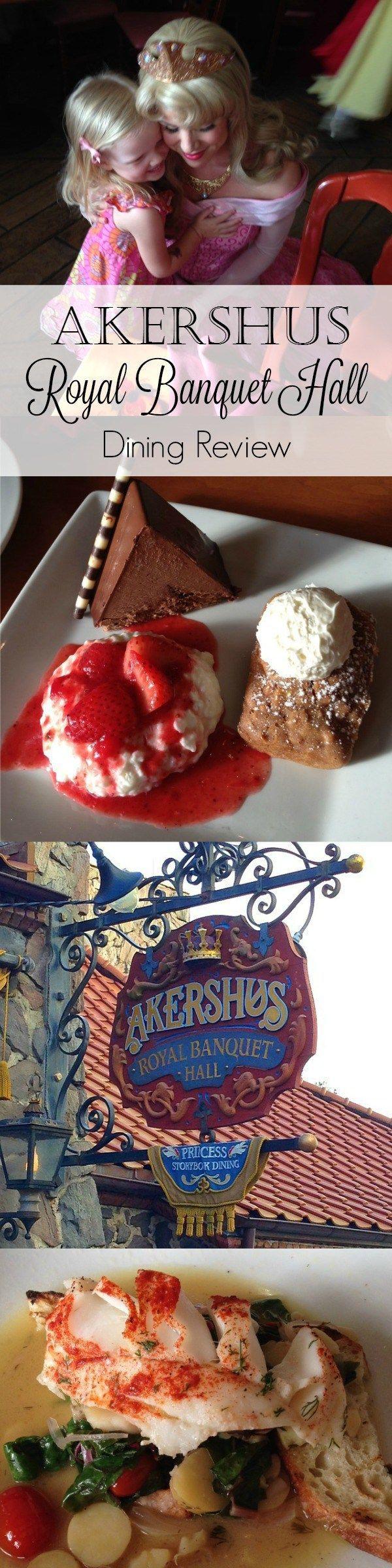 Review of Princess Storybook Dining at Disney's Akershus Royal Banquet Hall in Epcot's Norway pavilion