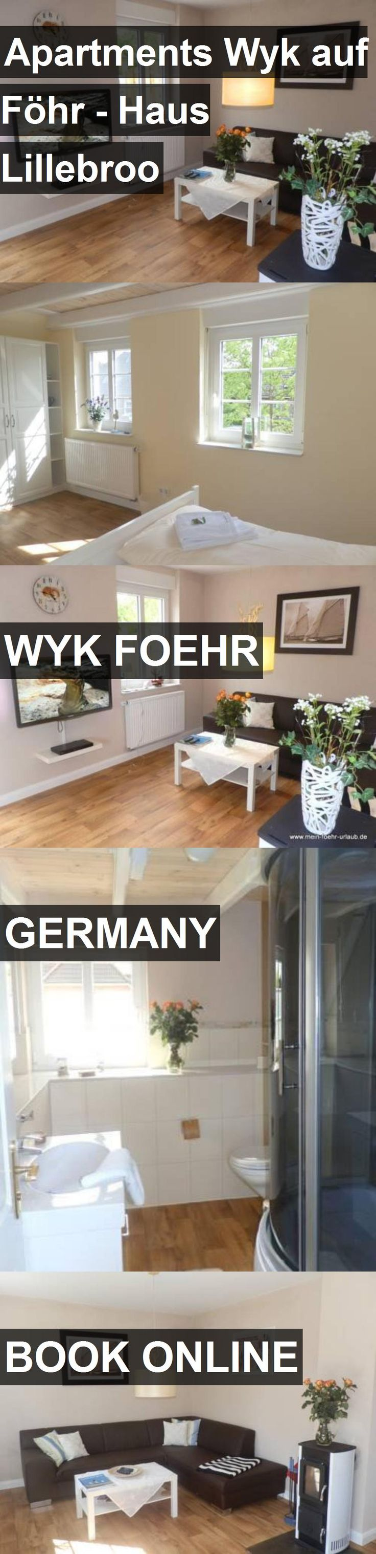 Apartments Wyk auf Föhr - Haus Lillebroo in Wyk Foehr, Germany. For more information, photos, reviews and best prices please follow the link. #Germany #WykFoehr #travel #vacation #apartment