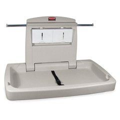 Horizontal Baby Changing Station, Light Platinum (RCP7818-88PLA) by Rubbermaid. $265.83. Light Platinum. Horizontal Baby Changing Station. Rubbermaid Horizontal Baby Changing Station Give your customers and your customer's children the comfort and convenience of this Rubbermaid Baby Changing Station. Manufactured with an antimicrobial agent that inhibits the growth of odor and stain causing bacteria that helps reduce the risk of cross contamination. Designed to be easily opened a...