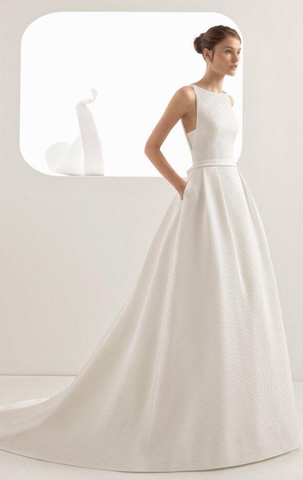 Courtesy of Rosa Clara Wedding Dresses; www.rosaclara.es; Wedding dresses ideas.