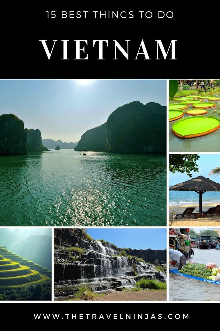 Discover the best things to do in Vietnam – Nature, Culture, Adventure, Romance, Food. After more than 1.5 years in country we share our top picks. via @thetravelninjas