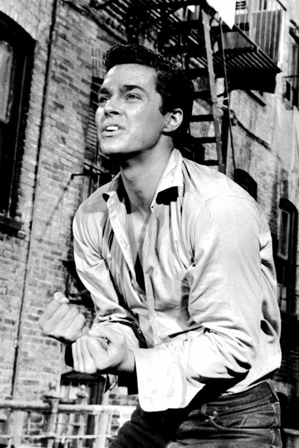 "Richard Beymer in ""West Side Story"" (1961). COUNTRY: United States. DIRECTOR: Robert Wise. Jerome Robbins."