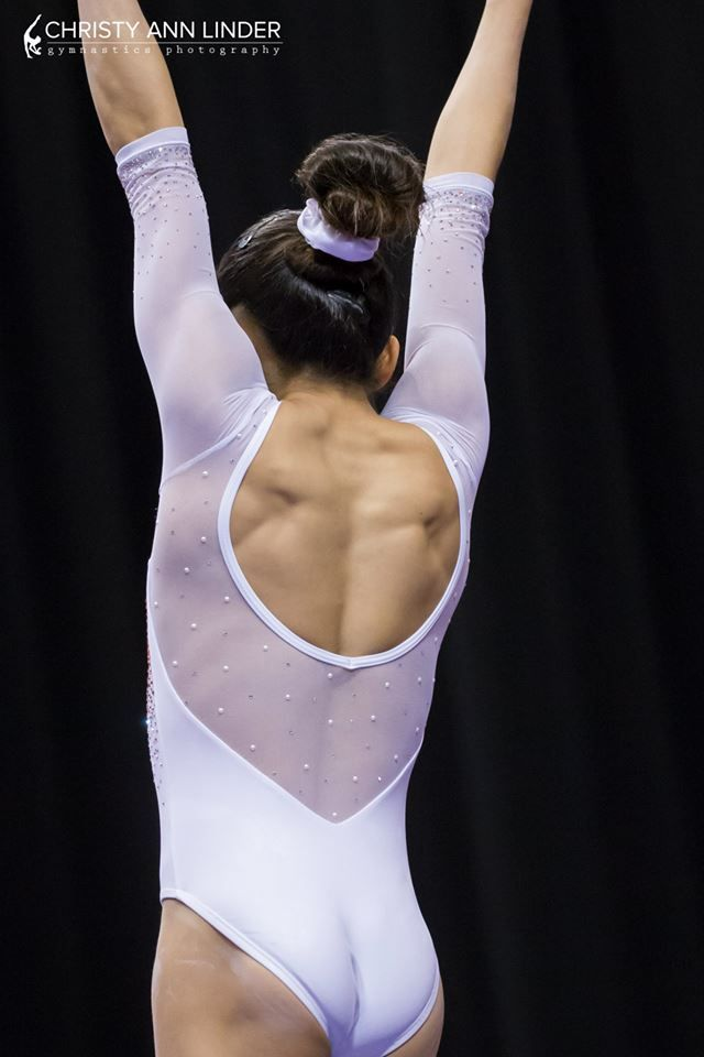 The back of Lauren Navarro's elegant leotard from the 2015 ...