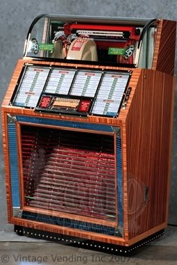 Juke Box. They were everywhere. In soda shops, pizza places, etc.