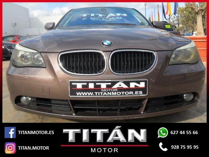 En Titán Motor tenemos para tí el BMW Serie 5 530d  📆Año: 2003 ⛽Combustible: Diesel 🛣️Kilometraje: 308.000 Km 🔸Cambio: Automático 🔸Potencia: 193 CV 💶Precio: 5.900 EUR  Para saber más visita estos enlaces:  http://www.titanmotor.es/vehiculo.php?id=113  https://www.autocasion.com/coches-segunda-mano/bmw-serie-5-ocasion/530d-aut-1-ref2036362  Contáctanos 📱627 44 55 66 📞928 75 95 95
