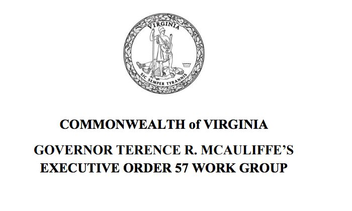 Commonwealth Of Virginia Secretary Of Natural Resources