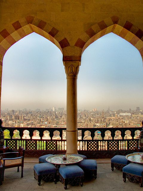 Al Azhar Park, Cairo by sdhaddow, via Flickr