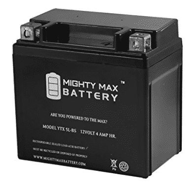YTX5L-BS Replacement for 50cc 90cc ATV Scooter 12V Battery